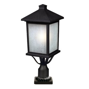 Compare prices Stevens Outdoor 1-Light Pier Mount Light By Andover Mills