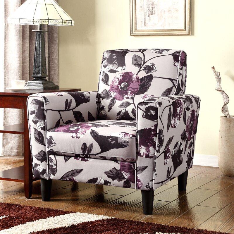 High Quality Floral Armchair