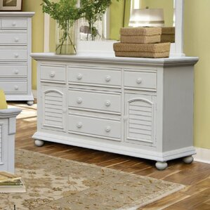 Laguna Triple 5 Drawer Dresser by Rosecliff Heights
