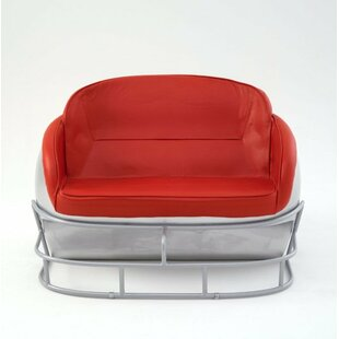NCAA Football Helmet Loveseat