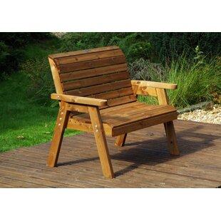 Gann Wooden Bench By Union Rustic