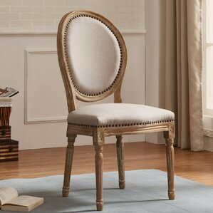 Castilly Weathered Dining Side Chairs (Se..