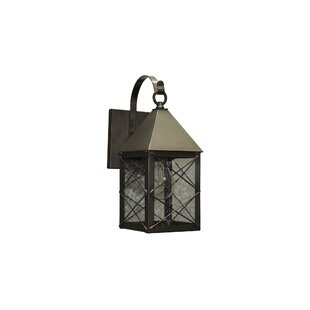 Aron Traditional LED Outdoor Wall Lantern by Alcott Hill