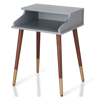 Affordable Kennison Mid Century Modern End Table by Ivy Bronx