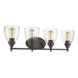 Breakwater Bay Durst Transitional 4-Light Vanity Light