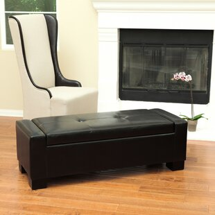 Latitude Run Shaffer Storage Ottoman