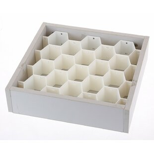 2.6H x 13.5W x 14.2D Drawer Organizer Rebrilliant