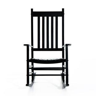 Laurel Foundry Modern Farmhouse Mahone Porch Rocking Chair