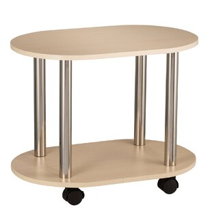 Debby End Table with Caster