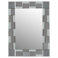 Frameless Wall Mirror modern frameless wall mirrors | allmodern