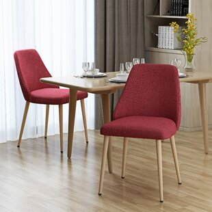 Dodrill Mid Century Upholstered Dining Chair (Set Of 2) Best Design