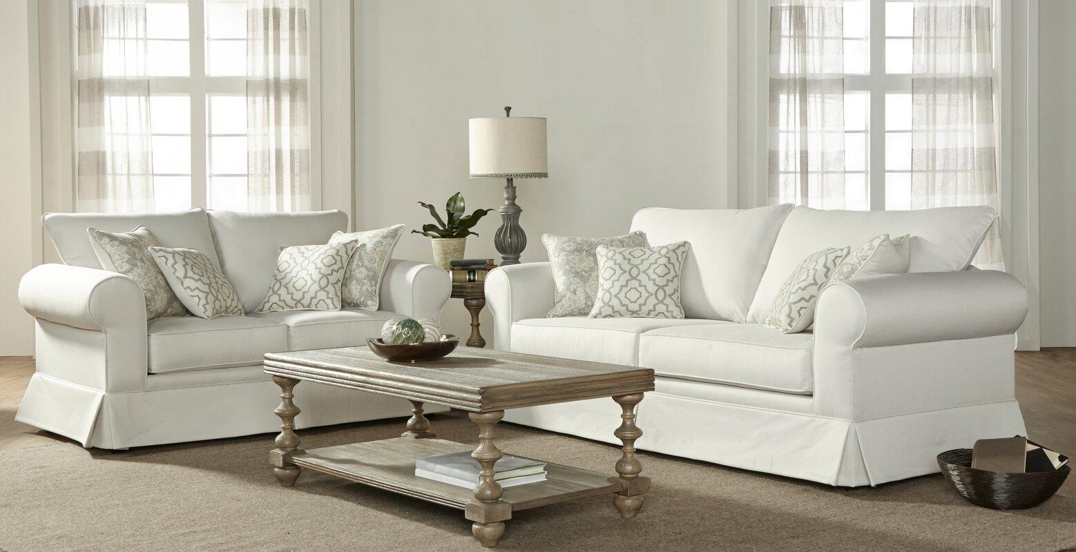 Charlton Home Alverta Configurable Living Room Set & Reviews | Wayfair