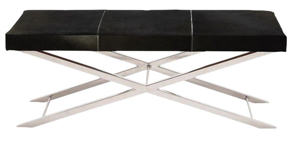 Artisan Leather Bench