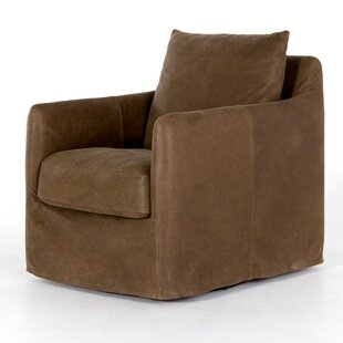 17 Stories Stefania Swivel Armchair
