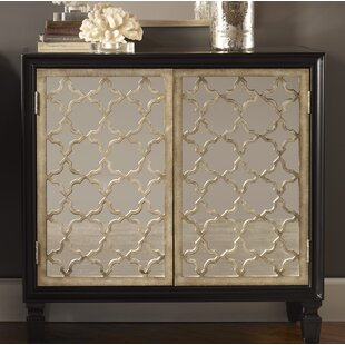 Franzea Mirrored Accent Cabinet by Uttermost