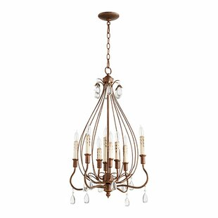 Lark Manor Jaune 8-Light Chandelier