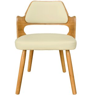 Brayden Studio Westley Bamboo Upholstered Dining Chair