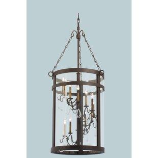 Morris 12-Light Foyer Pendant by Kalco
