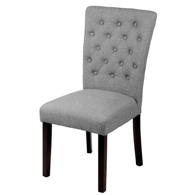 Bellatrix Side Chair Upholstery Color: Grey by Andover Mills