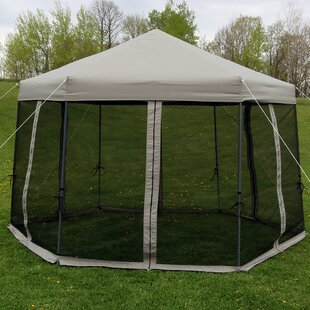 Enola 12 Ft. W x 12 Ft. D Steel Pop-Up Canopy & Pop Up Canopy With Mesh Walls | Wayfair