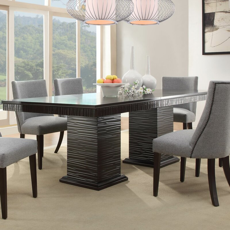 Cadogan Extendable Dining Table Amp Reviews Allmodern