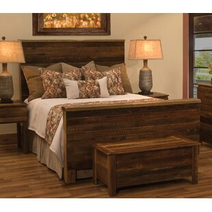 Affordable Barnwood Uptown Panel Bed by Fireside Lodge Reviews (2019) & Buyer's Guide