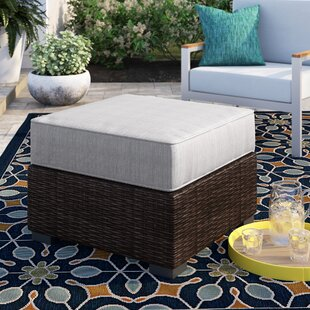 Oreland Ottoman with Cushion by Sol 72 Outdoor