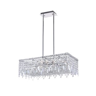 Willa Arlo Interiors Navya 10-Light Recta..