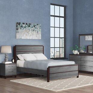 Hidalgo Panel 4 Piece Bedroom Set