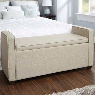 Savings Chevalier Upholstered Storage Bench ByDarby Home Co