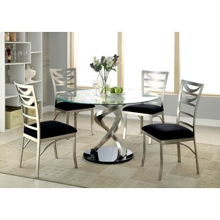 Beulah 5 Piece Dining Set Orren Ellis