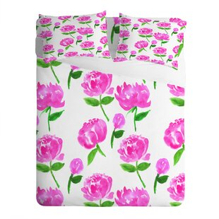 Peonies in Bloom Pillowcase (Set of 2)