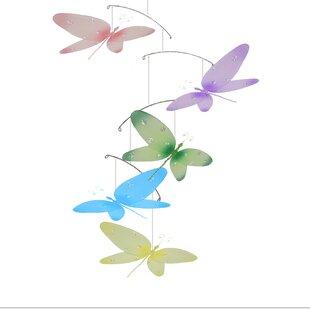 Best Deals Krysta Dragonfly Sparkle Nylon Hanging Mobile ByHarriet Bee