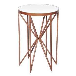 Camilla Butterfly End Table by Everly Quinn