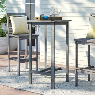 Manchester Solid Wood Bar Table by Sol 72 Outdoor