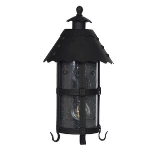Read Reviews Sellersburg 1-Light Outdoor Wall Lantern By Darby Home Co