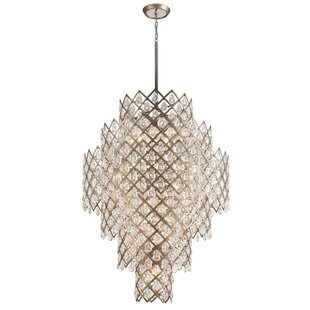 Tiara 17-Light Chandelier by Corbett Ligh..