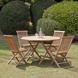 Reade 5 Piece Teak Dining Set