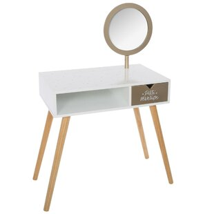 Simon Dressing Table With Mirror By Isabelle & Max