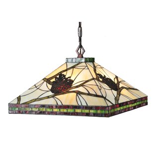 Mission Tiffany 4-Light Pool Table Light by Meyda Tiffany