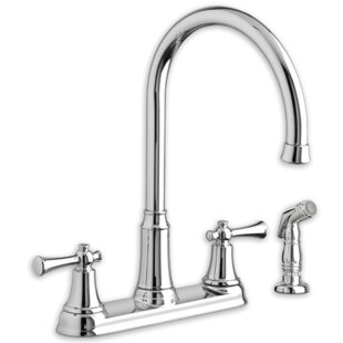 American Standard Portsmouth Double Handle Kitchen Faucet with Side Spray