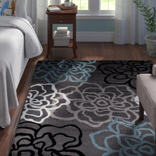 Shiflett Gray/Blue/White Area Rug