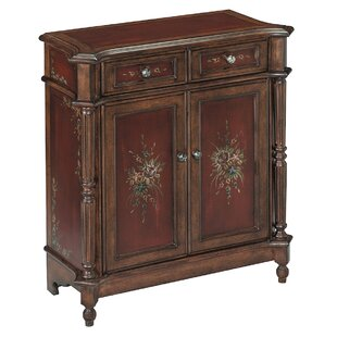 Cedar Grove 2 Drawer Burgundy Accent Chest by August Grove