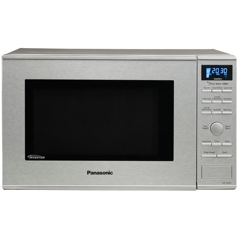 Countertop Built In Microwave