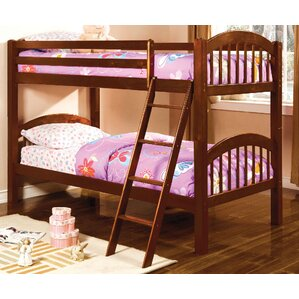 Heather Twin Over Twin Bunk Bed by A&J..