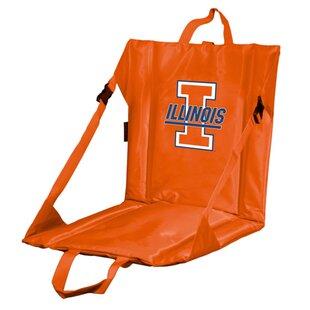 Collegiate Stadium Seat - Illinois by Logo Brands