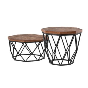Savings Laforest 2 Piece End Table Set by Mercury Row