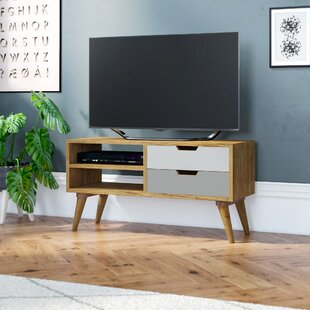 Carnany Upper Solid Wood Entertainment Unit For TVs Up To 39