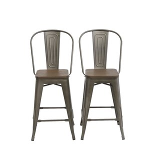 Isamar 24 Bar Stool (Set of 2) by Williston Forge