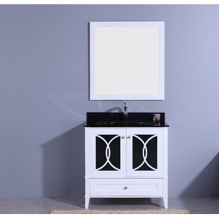 Fernwood 36 Single Bathroom Vanity Set with Mirror by House of Hampton